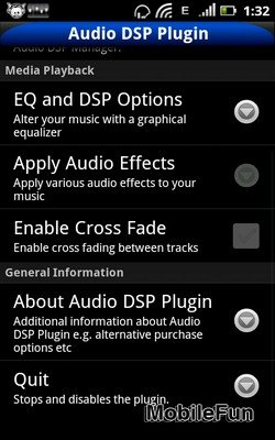 Audio DSP & EQ plugin