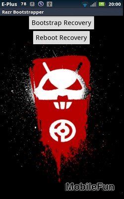 Droid X Recovery Bootstrap