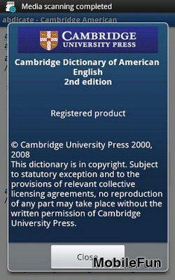 Cambridge Dictionary of American English