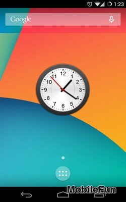 Animated Analog Clock