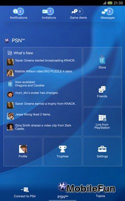 Official Sony Playstation app