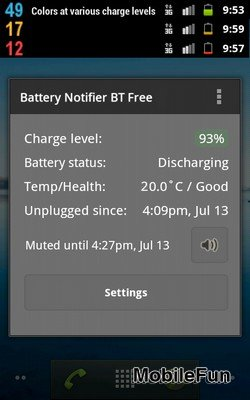 Battery Notifier