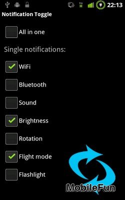 Notification Toggle
